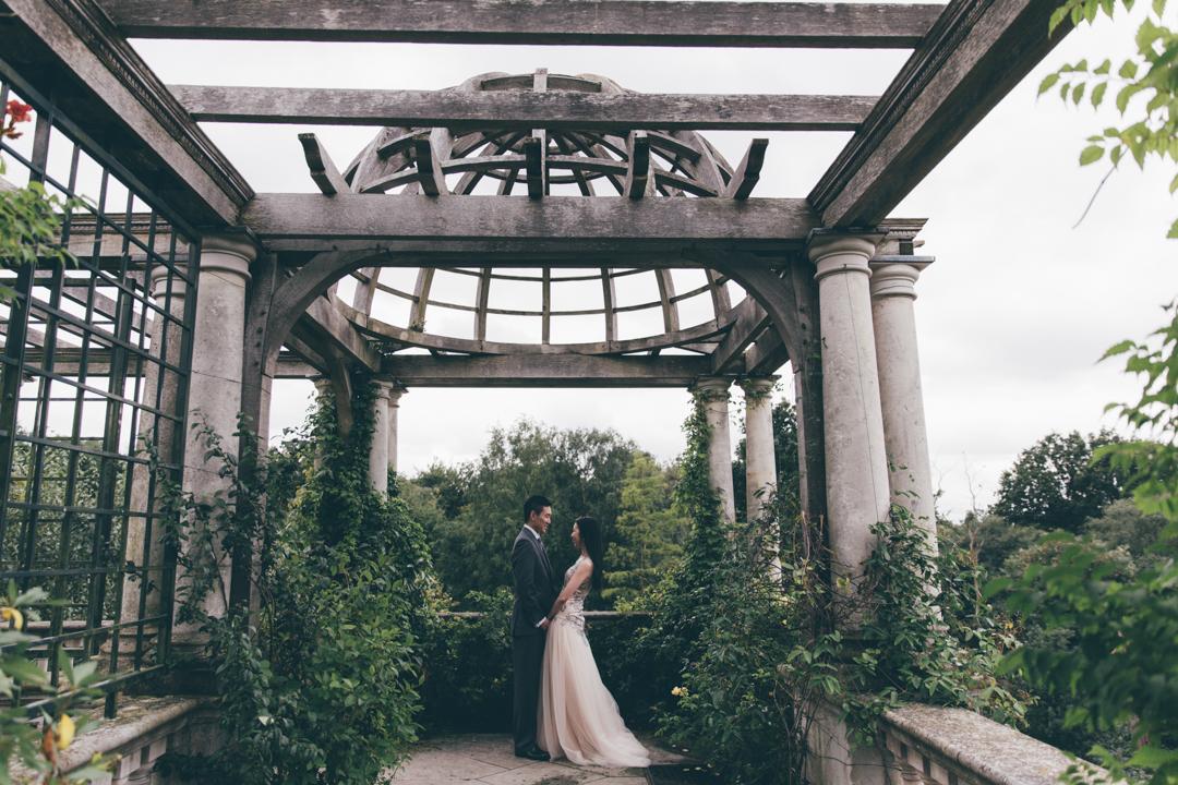 Hill garden and pergula pre wedding shoot-101