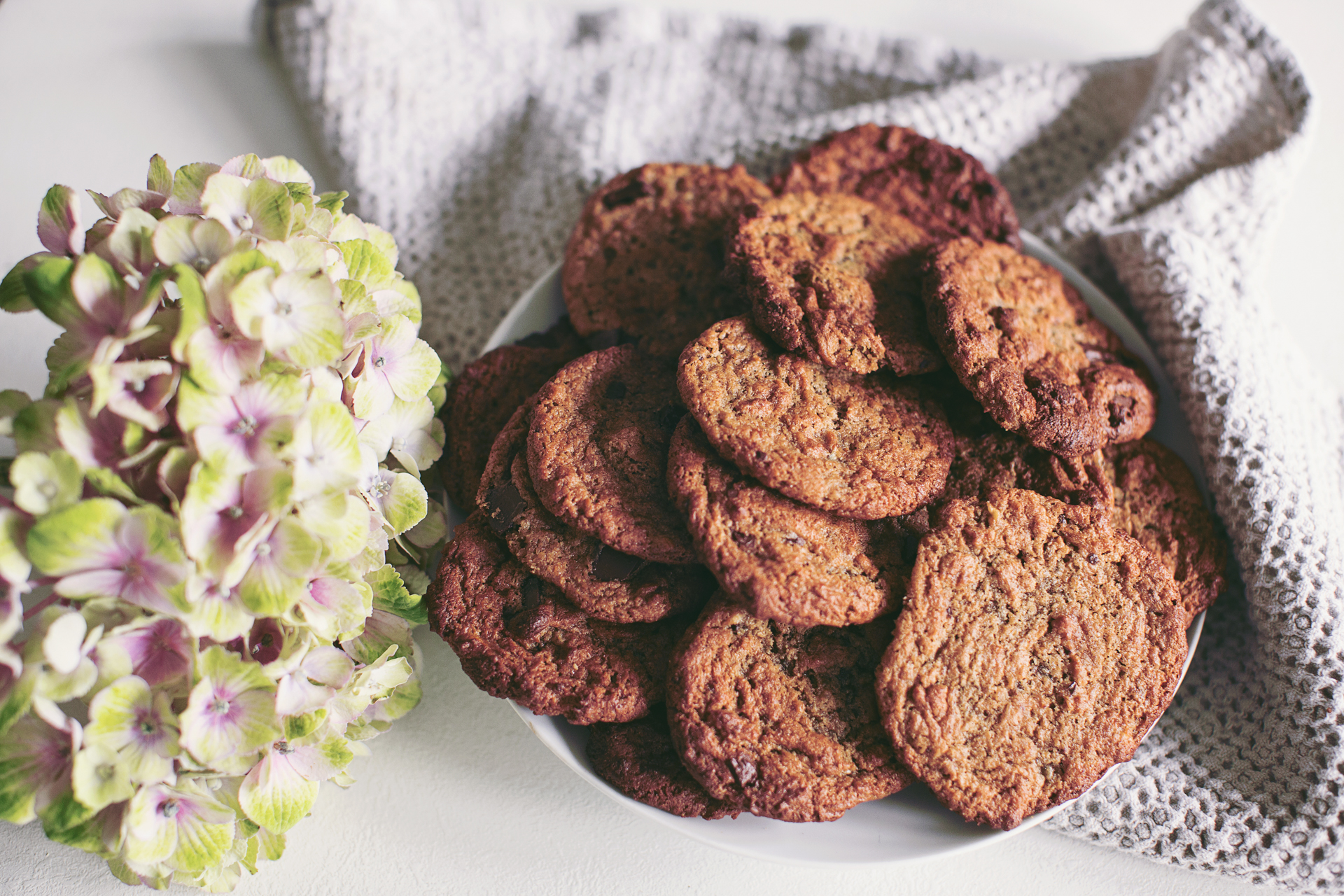 The wonderful peanut butter cookies