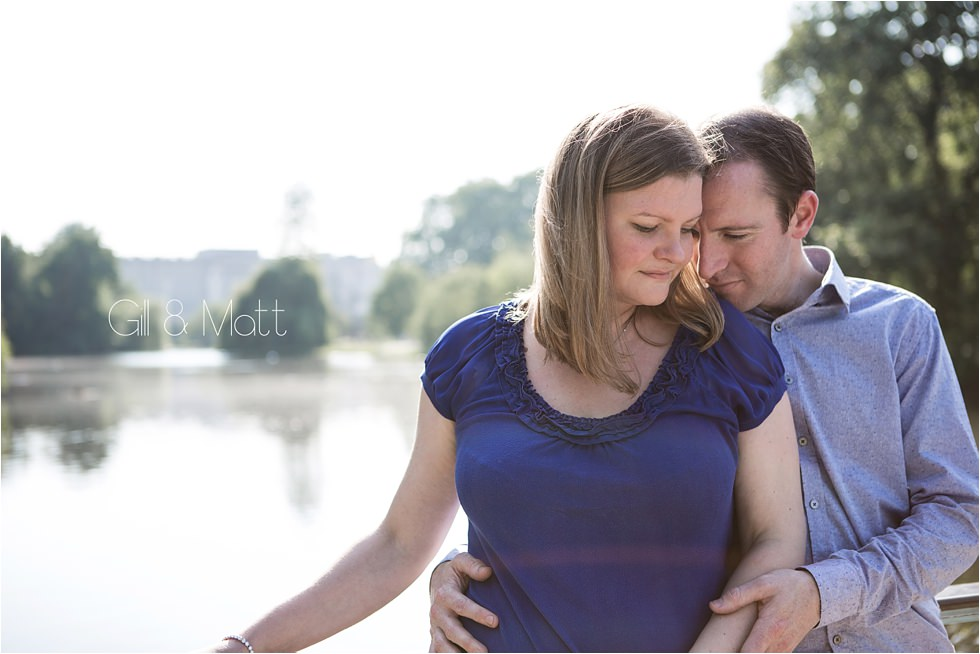 St James Park Pre Wedding Shoot | Gill & Matt