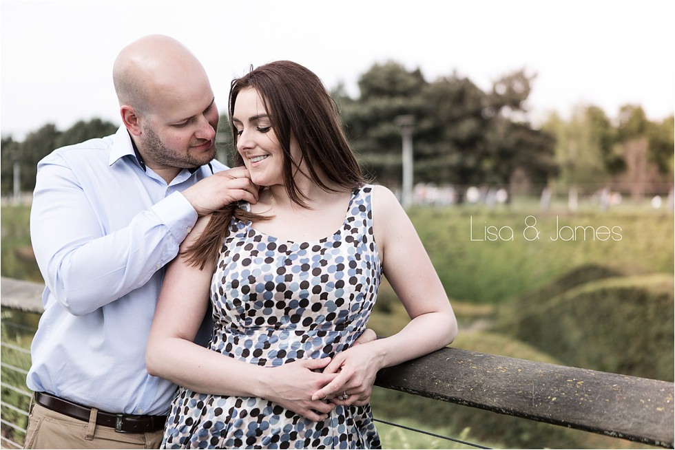 Thames Barrier Park pre wedding shoot | Lisa & James